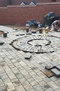 Block paving patio by Driveways Solihull