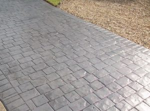 Imprinted concrete driveway Solihull Driveways Solihull Birmingham UK West Midlands
