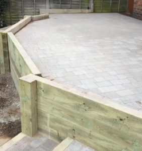 New patio by Driveways Solihull