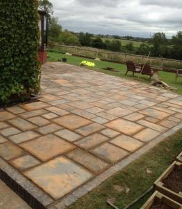 Driveways Solihull new Paved Patio using Pavers